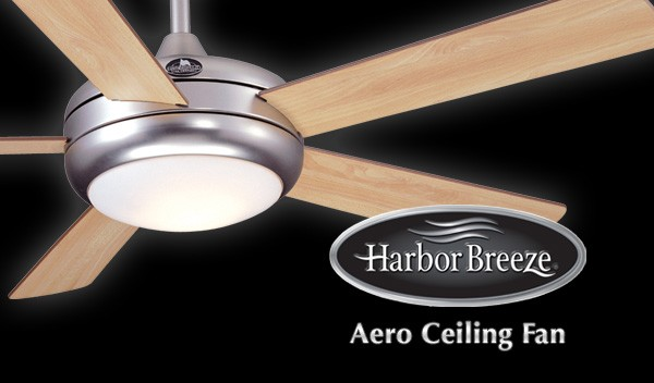 harbor breeze aero ceiling fan photo - 3