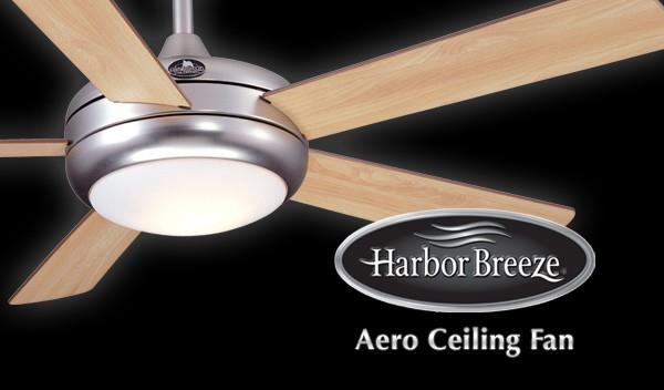 harbor breeze aero ceiling fan photo - 3