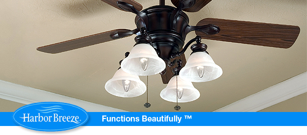 harbor breeze bellhaven ceiling fan photo - 9