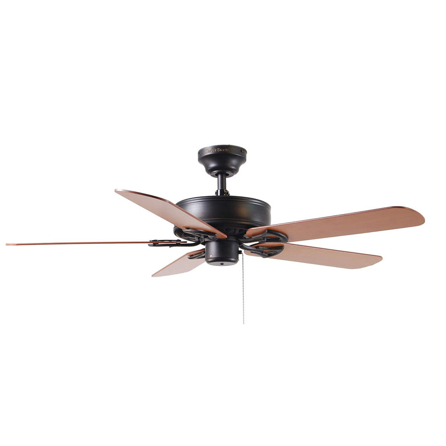 Harbor breeze bronze ceiling fan add real value to your for What size ceiling fan do i need