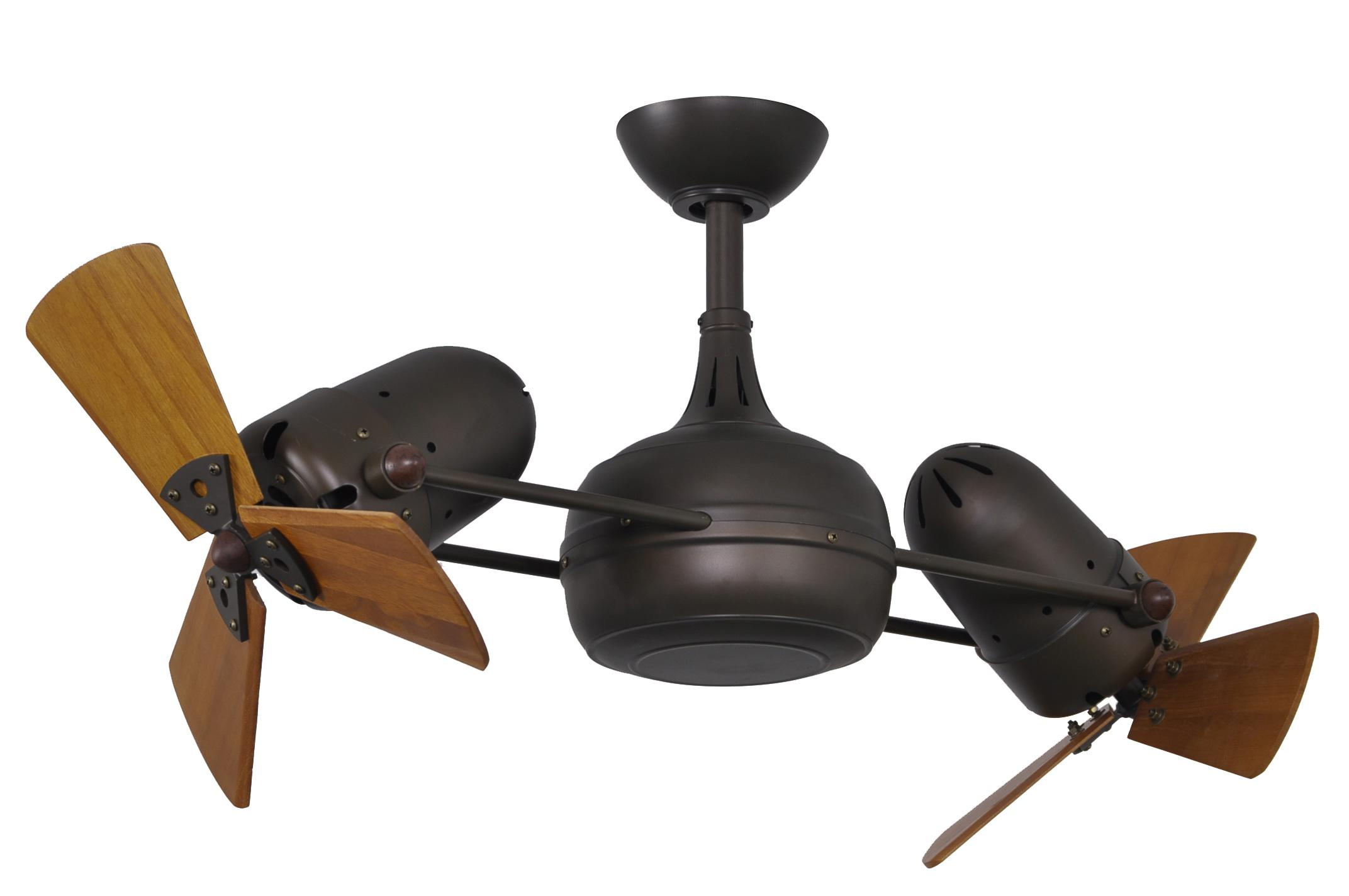 harbor breeze double ceiling fan photo - 7