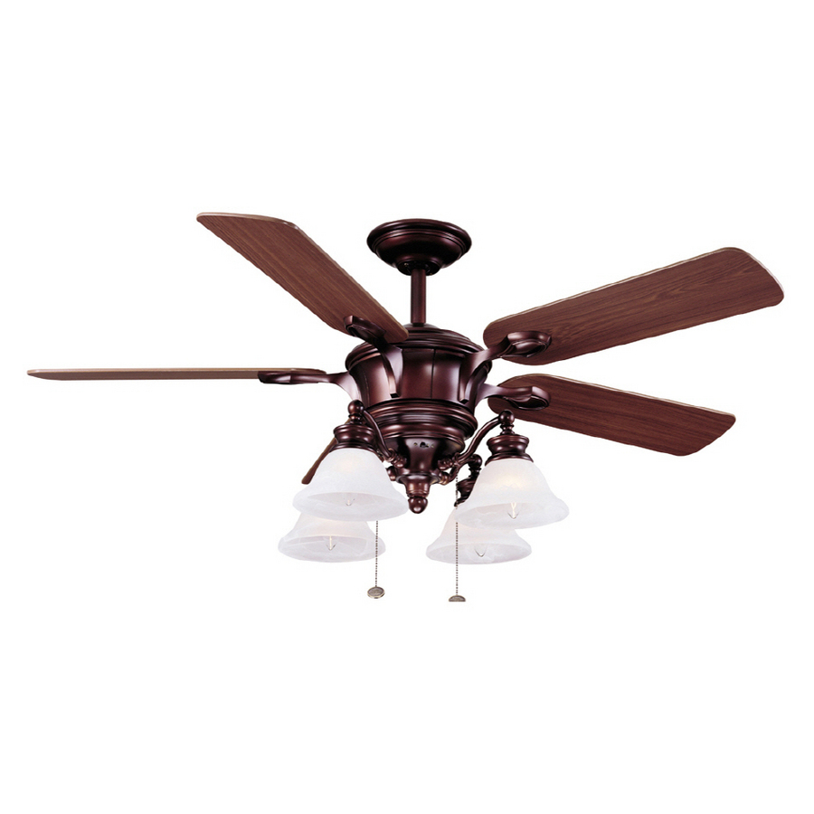 harbor breeze double ceiling fan photo - 8