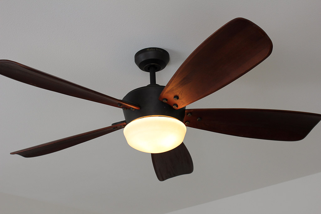 harbor breeze saratoga ceiling fan photo - 1