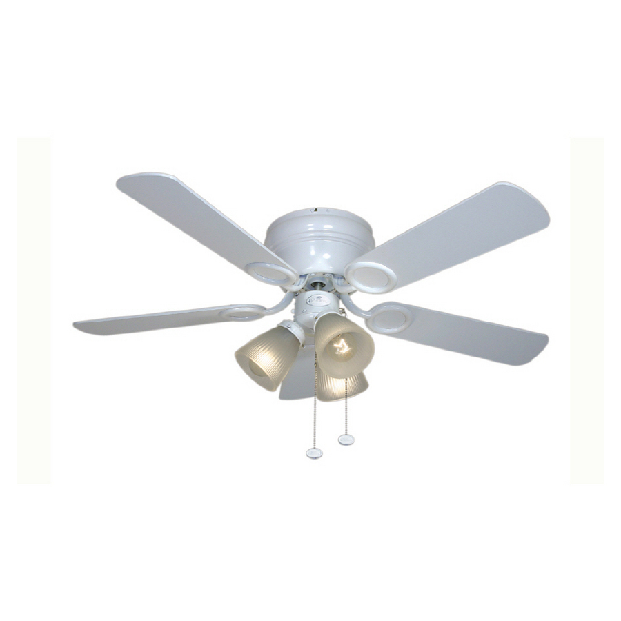 harbor breeze white ceiling fan photo - 10