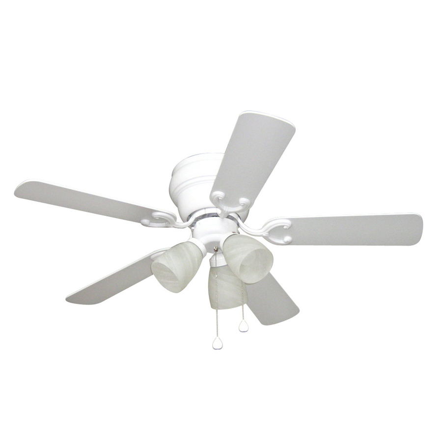 harbor breeze white ceiling fan photo - 4