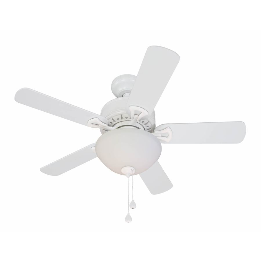 harbor breeze white ceiling fan photo - 5