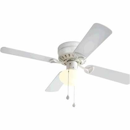 harbor breeze white ceiling fan photo - 6