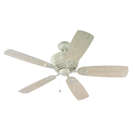 harbor breeze white ceiling fan photo - 7
