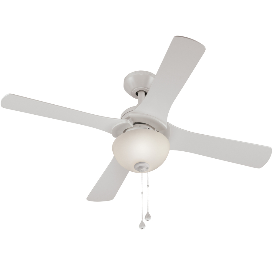harbor breeze white ceiling fan photo - 8