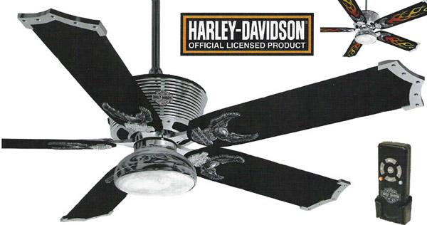 harley ceiling fan photo - 4