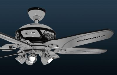 harley ceiling fan photo - 9