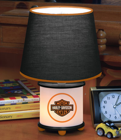 harley davidson desk lamp photo - 1