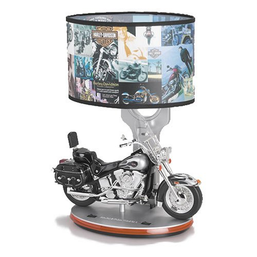 harley davidson desk lamp photo - 3