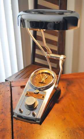 harley davidson desk lamp photo - 7