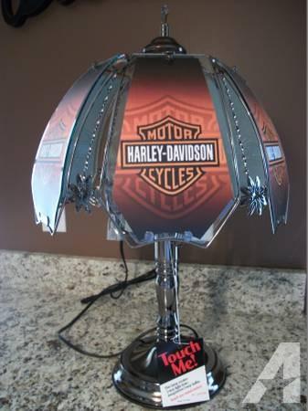 Delightful Harley Davidson Lamp