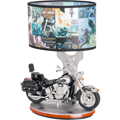 harley davidson motorcycle lamp photo - 1