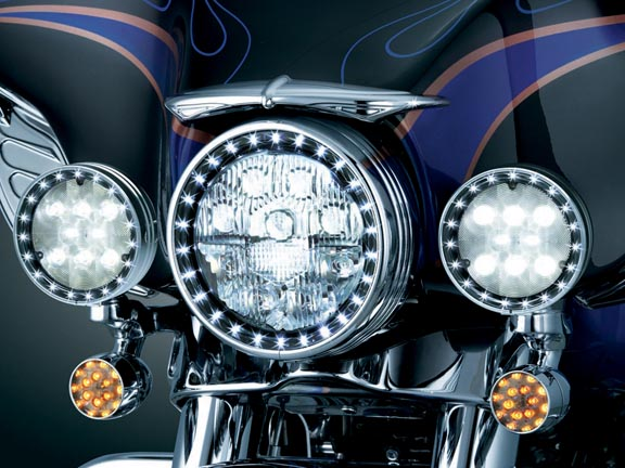 harley passing lamps photo - 1