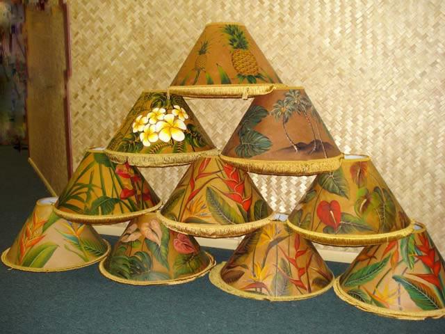 hawaiian lamps photo - 6