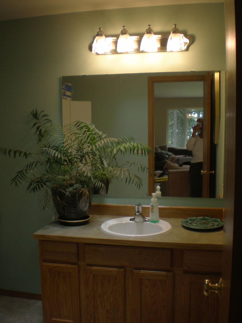 heat lamp bathroom photo - 8