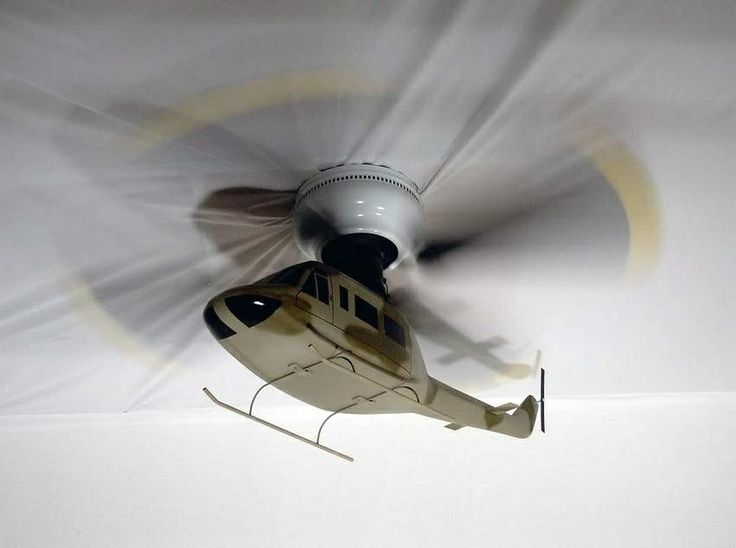 Cool Bedroom Ceiling Fans Part - 38: Helicopter Ceiling Fans Photo - 4