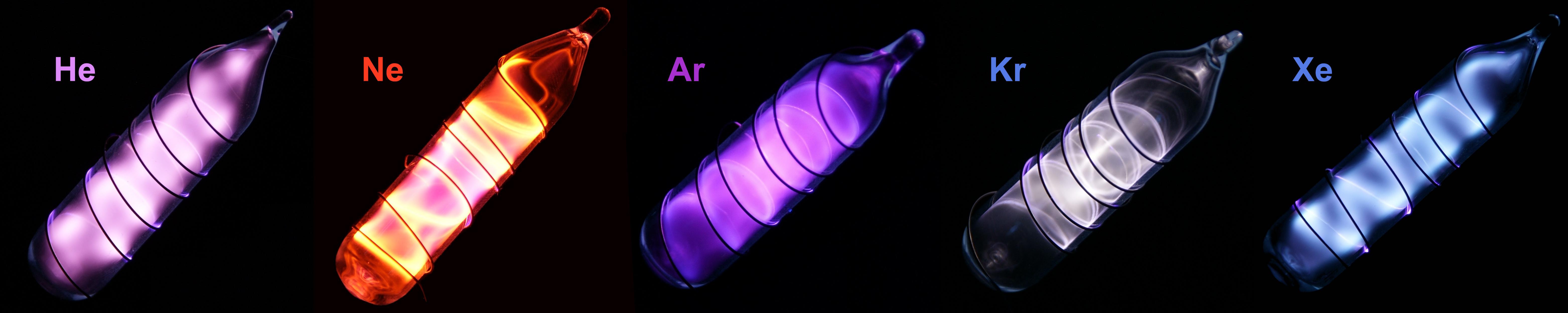 helium lamp photo - 2