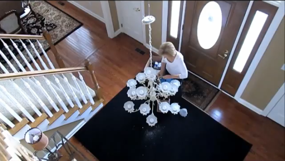 Foyer Chandelier Installation Cost : Reasons you should buy a high ceiling light bulb