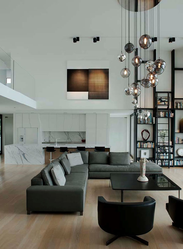 high ceiling lights photo - 10