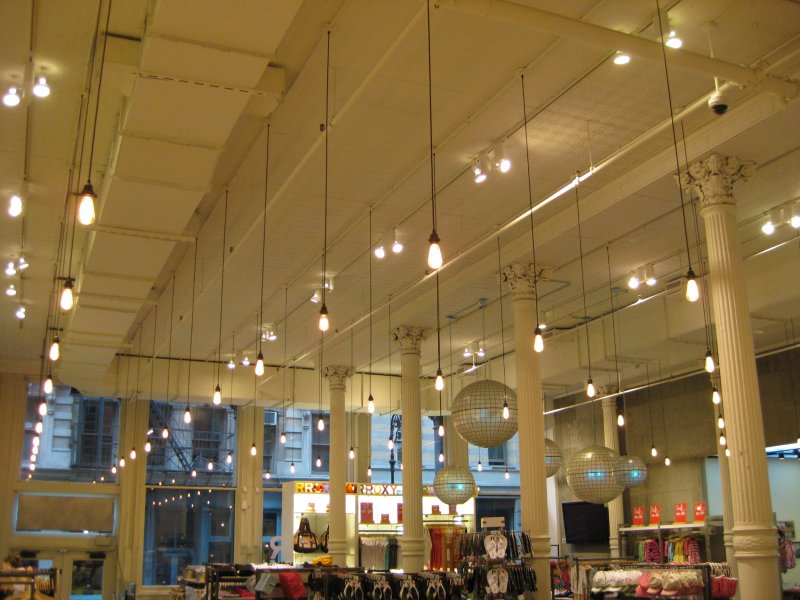 high ceiling lights photo - 4