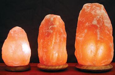 himalayan salt rock lamps photo - 4