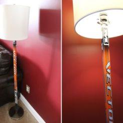 hockey stick lamp photo - 7