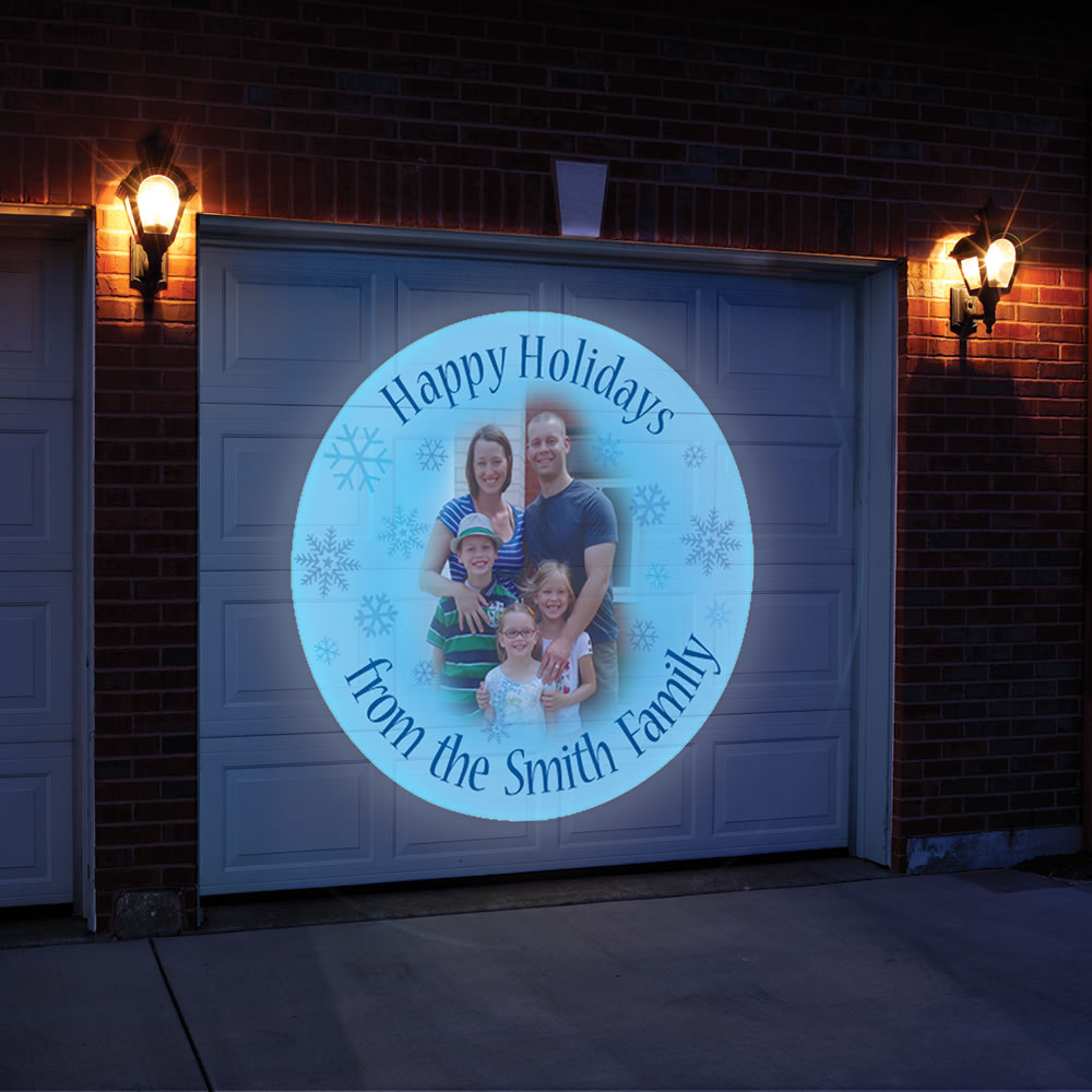 holiday outdoor projector lights photo - 5