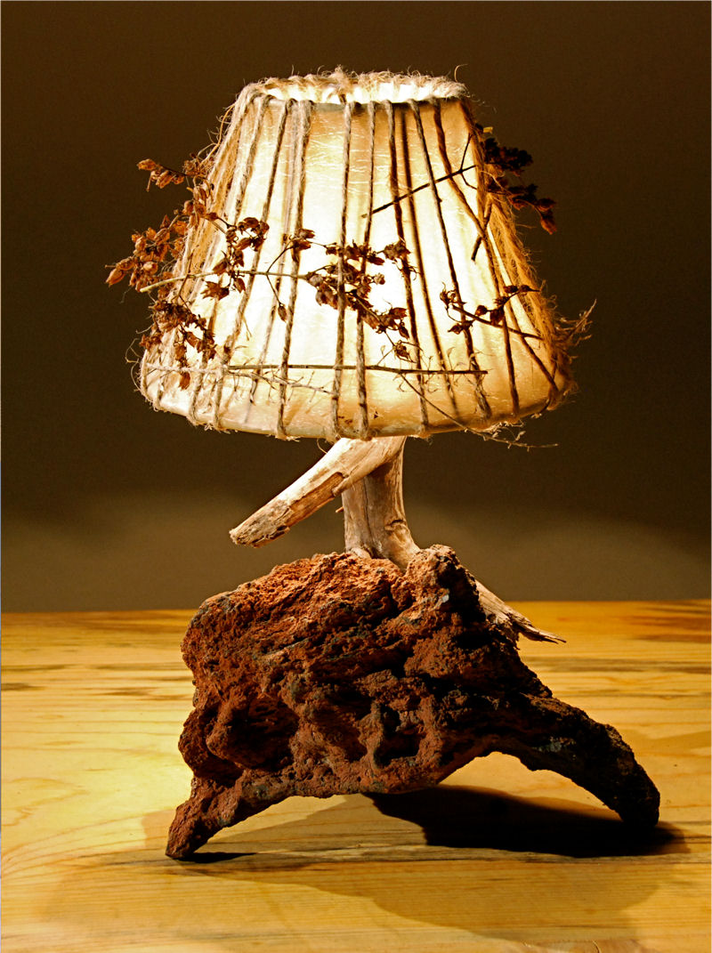 home made lamps photo - 3