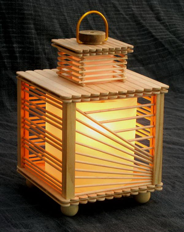 home made lamps photo - 6