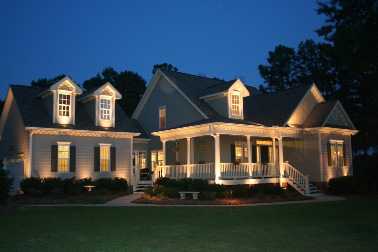 Exterior Lighting For Homes - Home Design