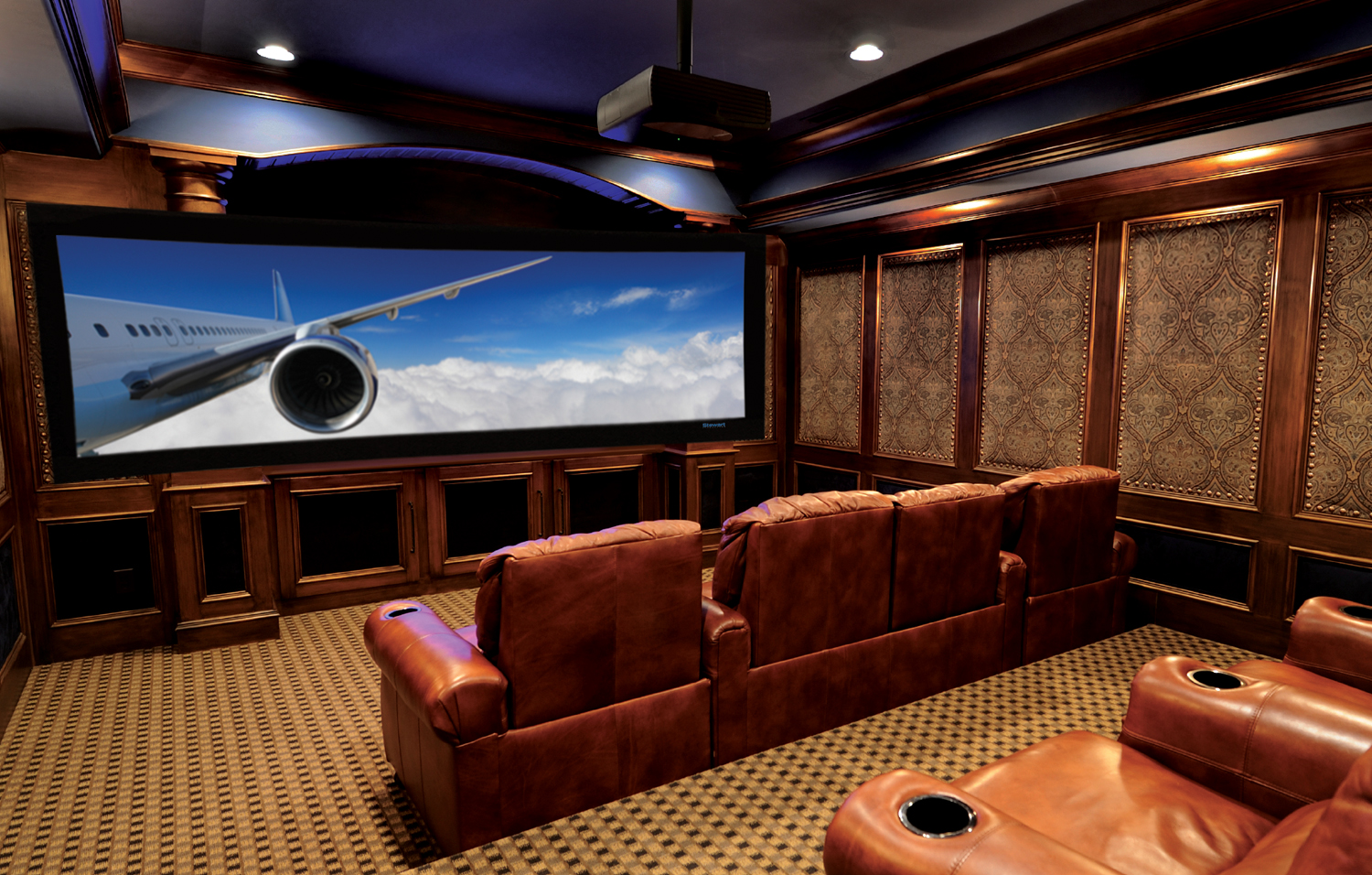 home theater ceiling lights photo - 1