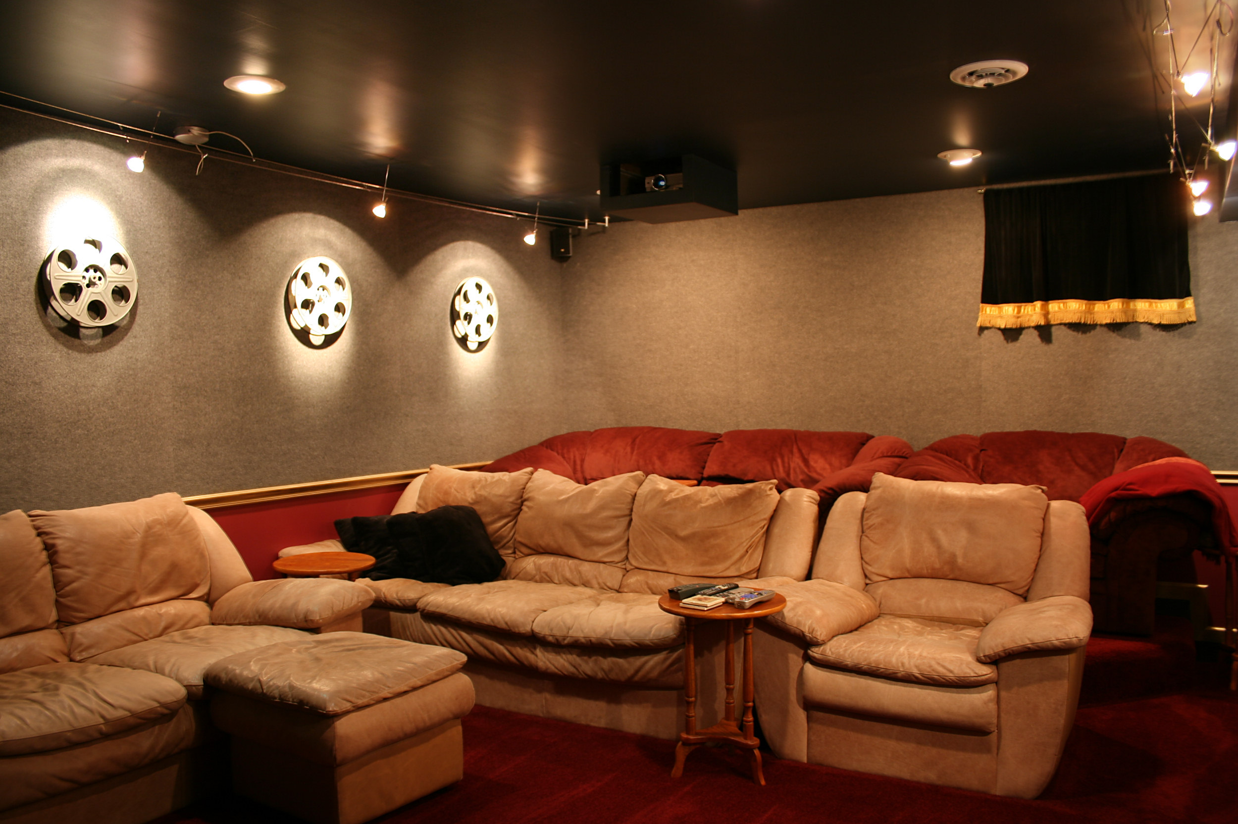 home theater ceiling lights photo 2