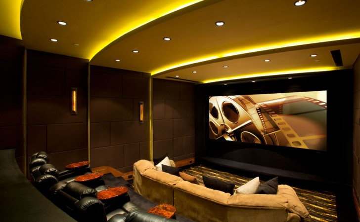home theater ceiling lights photo - 7