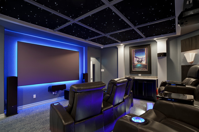 home theater ceiling lights photo - 8