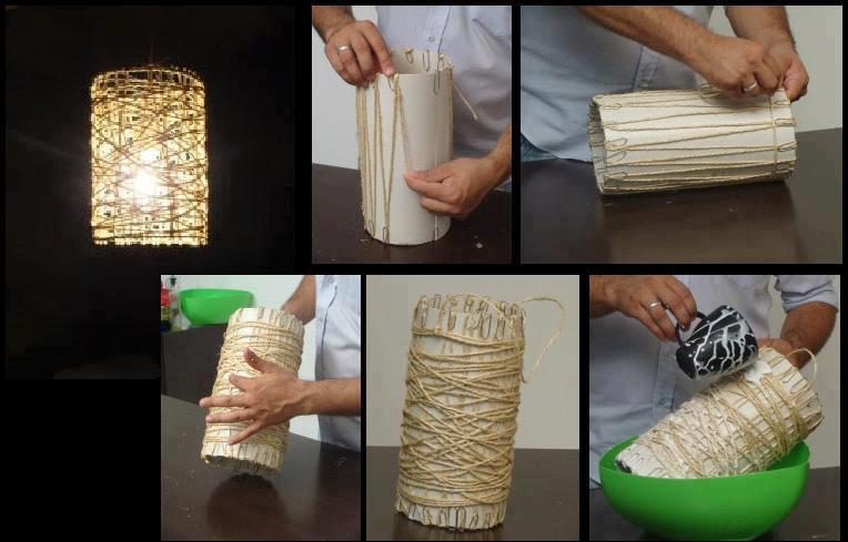 homemade lamp ideas photo - 5