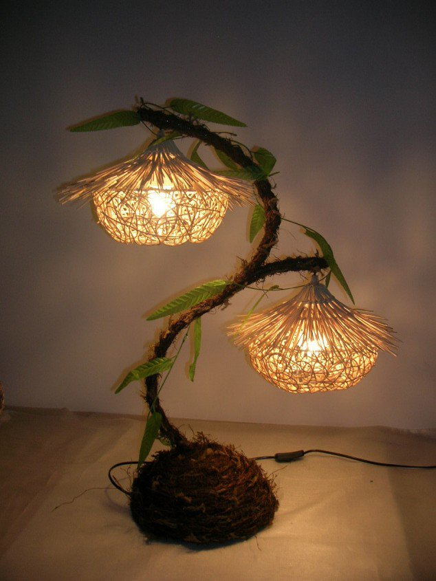 homemade lamp ideas photo - 7