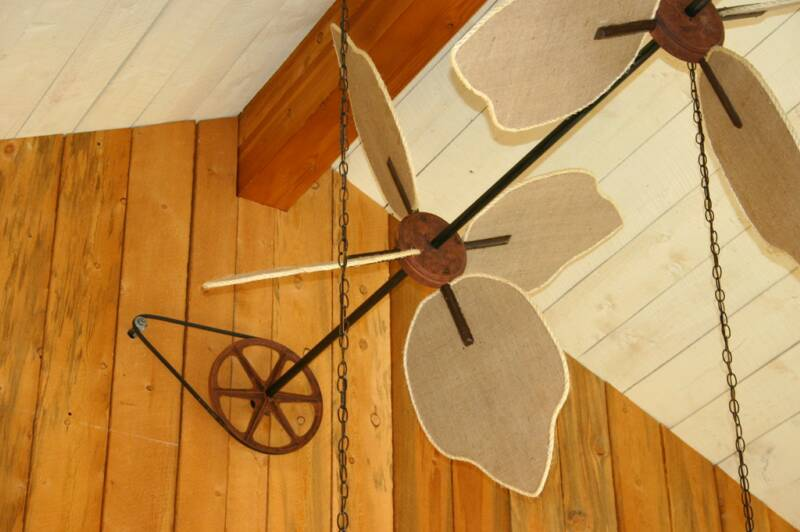 horizontal ceiling fans photo - 10