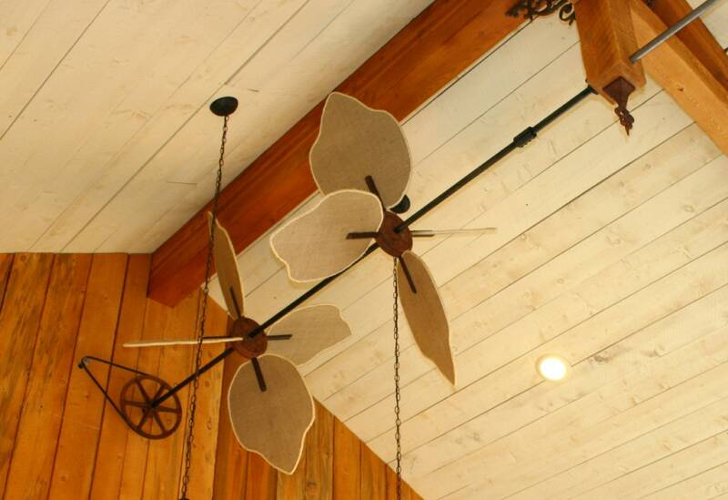 horizontal ceiling fans photo - 4