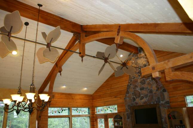 horizontal ceiling fans photo - 6