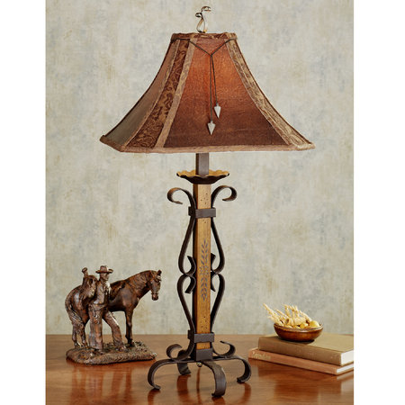 horse table lamp photo - 8