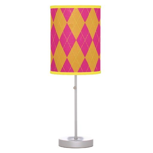 hot pink lamps photo - 4