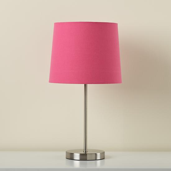 hot pink table lamp photo - 1