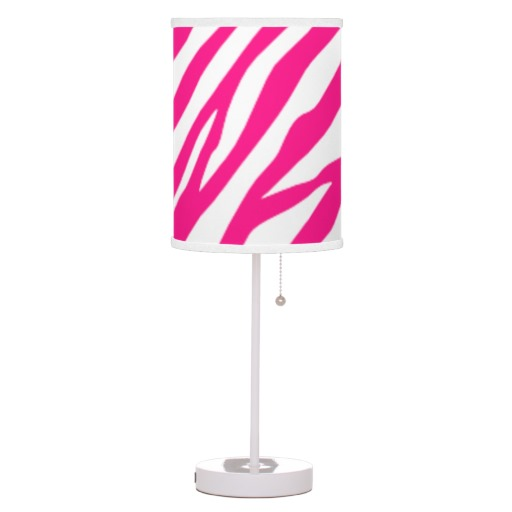 hot pink table lamp photo - 6