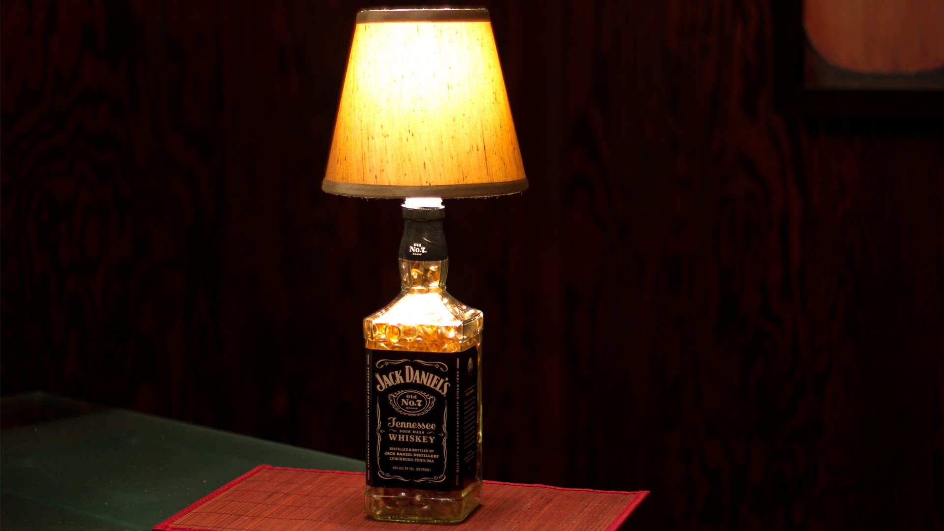 how to make a bottle lamp photo - 1