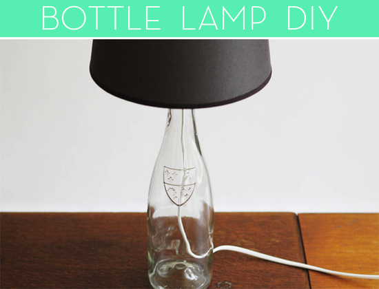 how to make a bottle lamp photo - 10