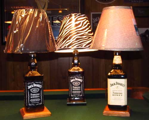 how to make a bottle lamp photo - 6